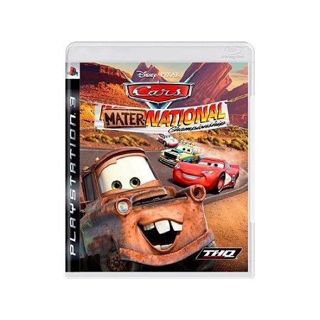 Cars: Mater-National Championship - Usado - PS3