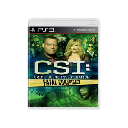 CSI: Fatal Conspiracy - Usado - PS3