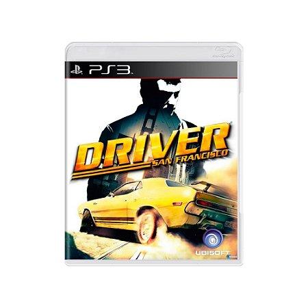 Jogo Driver San Francisco - |Usado| - PS3