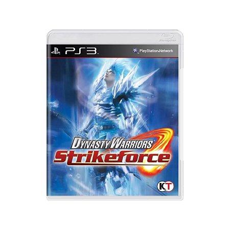 Dynasty Warriors Strikeforce - Usado- PS3