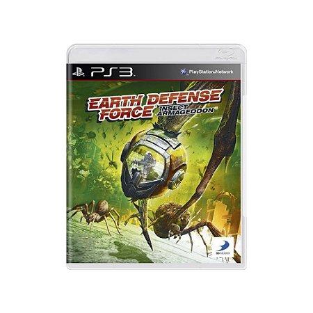 Jogo Earth Defense Force: Insect Armageddon - |Usado| - PS3