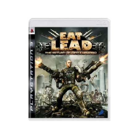 Eat Lead: The Return of Matt Hazard Usado - PS3