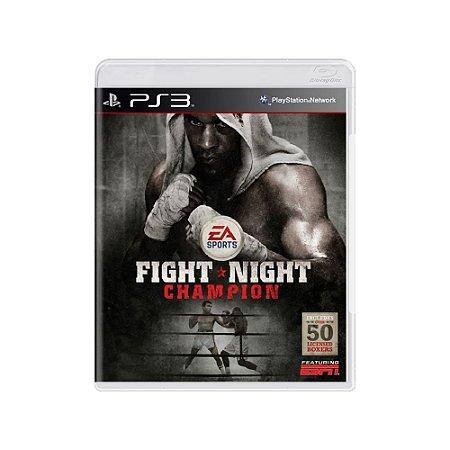 Fight Night Champion - Usado - PS3