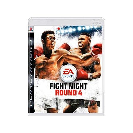 Fight Night Round 4 - Usado - PS3