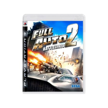 Full Auto 2 Battlelines - Usado - PS3