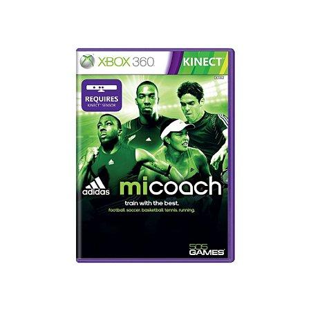 Jogo Adidas miCoach - |Usado| - Xbox 360