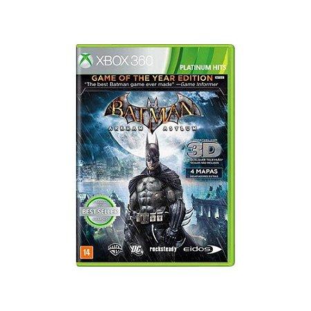 Batman Arkham Asylum (GOTY) - Usado - Xbox 360