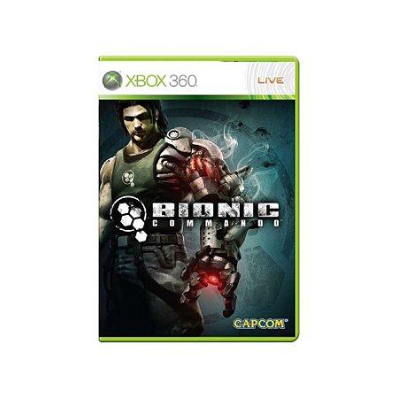 Bionic Commando - Usado - Xbox 360