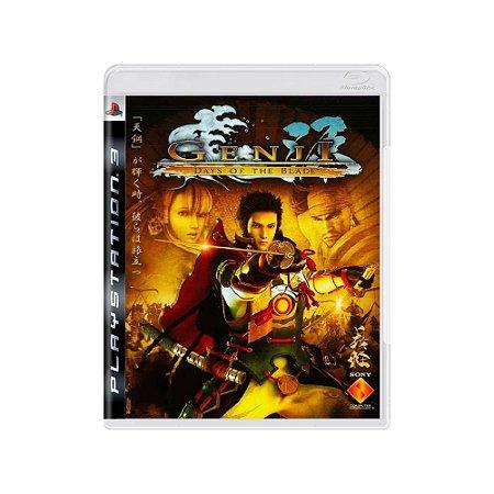 Genji: Days of The Blade - Usado - PS3