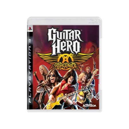 Guitar Hero: Aerosmith - Usado - PS3