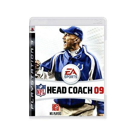 NFL Head Coach 09 - Usado -  PS3