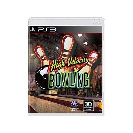 High Velocity: Bowling - Usado - PS3