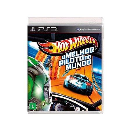 Hot Wheels: O Melhor Piloto do Mundo - Usado - PS3