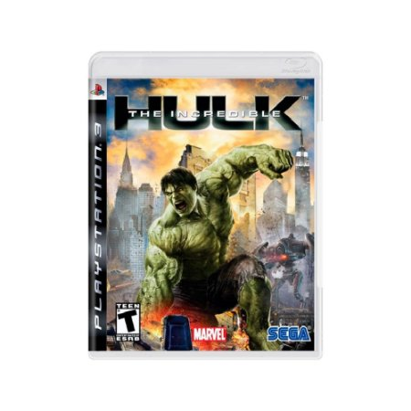 The Incredible Hulk - Usado - PS3