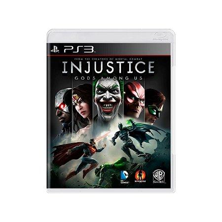 Injustice Gods Among Us - Usado - PS3