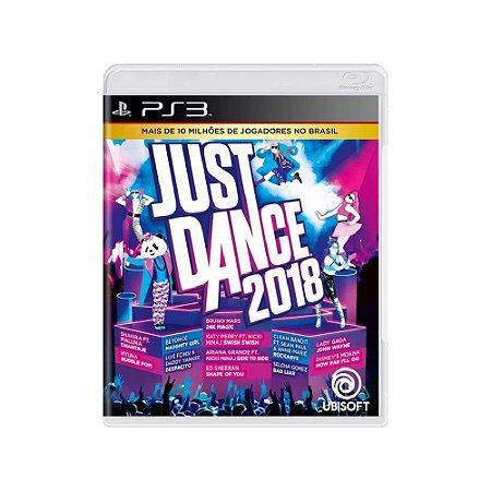 Just Dance 2018 - Usado - PS3