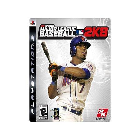 Major League Baseball 2k8 - Usado - PS3
