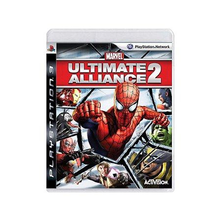 Marvel Ultimate Alliance 2 - Usado - PS3