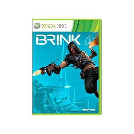 Brink - Usado - Xbox 360