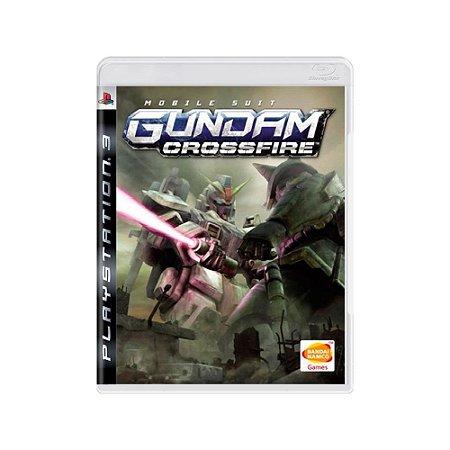 Mobile Suit: Gundam Crossfire - Usado - PS3