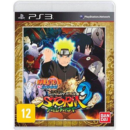 Naruto Shippuden Ultimate Ninja Storm 3 Fullburst |USADO| - PS3