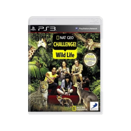 Nat Geo Challenge! Wild Life - Usado - PS3