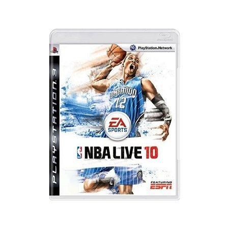 NBA Live 10 - Usado - PS3
