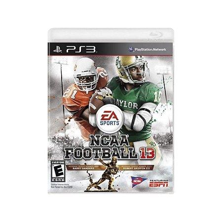NCAA Football 13 - Usado - PS3