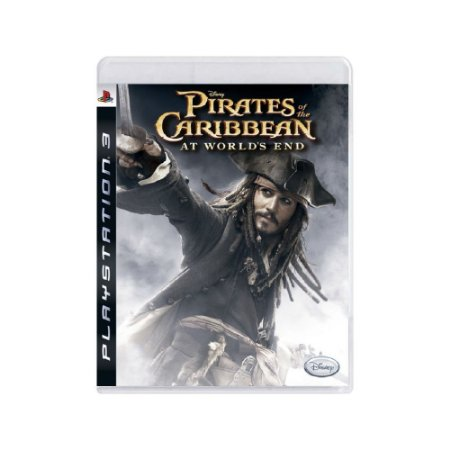 Pirates of The Caribbean: At Worlds End - Usado - PS3