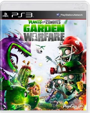 Plants vs Zombies Garden Warfare - |USADO| -PS3