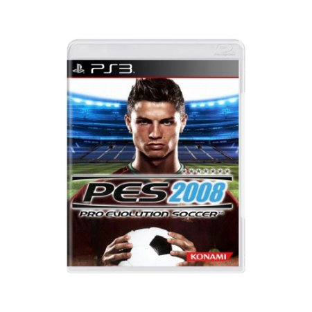 Pro Evolution Soccer 2008 (PES 08) - Usado - PS3