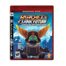 Ratchet E Clank Future Tools Of Destruction - |Usado| - PS3