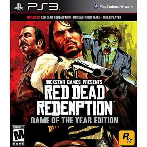 Red Dead Redemption Game of the Year Edition - |Usado| - PS3
