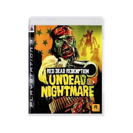 Red Dead Redemption: Undead Nightmare - Usado - PS3