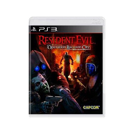 Resident Evil: Operation Raccoon City - Usado - PS3