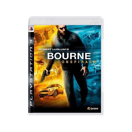 Robert Ludlum's The Bourne Conspiracy - Usado - PS3