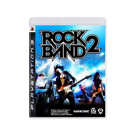 Rock Band 2 - Usado - PS3