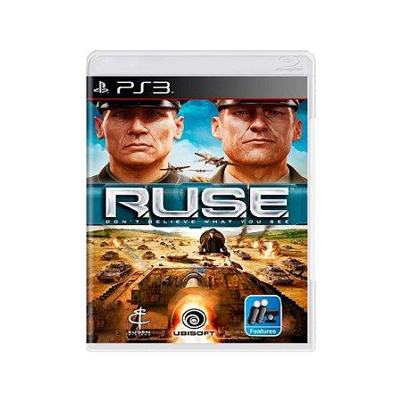 R.U.S.E. The Art of Deception - Usado - PS3
