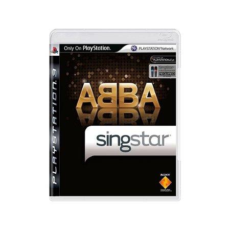 Singstar ABBA - Usado - PS3