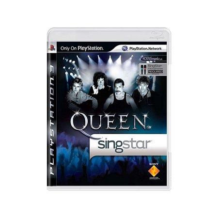 Singstar Queen - Usado - PS3