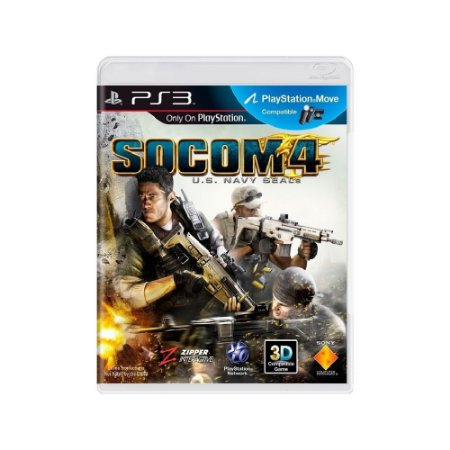 SOCOM 4: U.S. Navy Seals - Usado - PS3