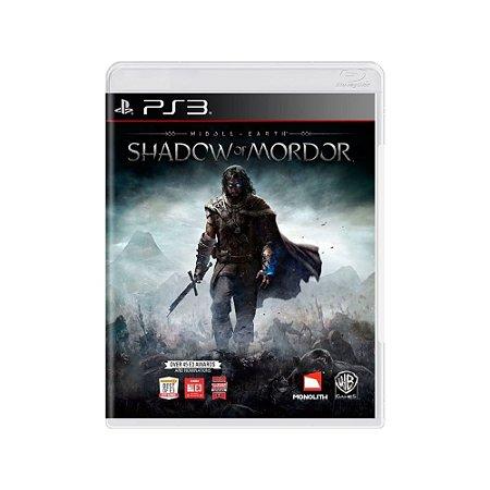 Terra-Média: Sombras de Mordor - Usado - PS3