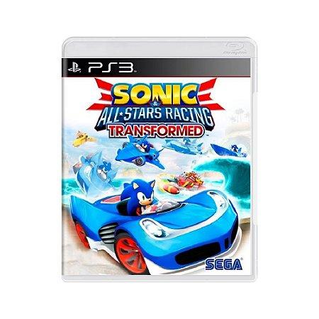 Sonic & All-Star Racing: Transformed - Usado - PS3