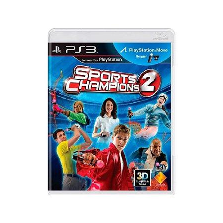Sports Champions 2 - Usado - PS3