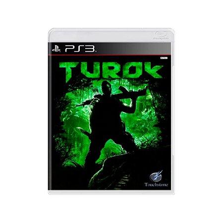 Turok - Usado - PS3