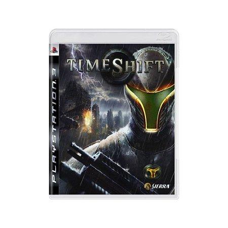 Time Shift - Usado -  PS3