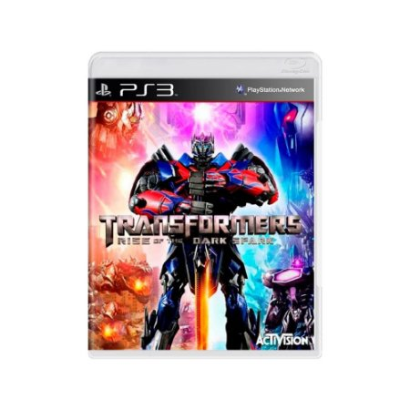 Transformers Rise Of The Dark Spark - Usado - PS3