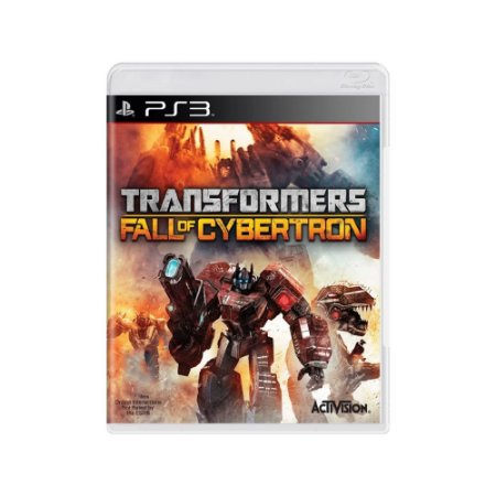 Transformers Fall Of Cybertron - Usado - PS3