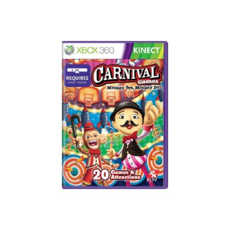Carnival Games: Monkey See, Monkey Do - Usado - Xbox 360