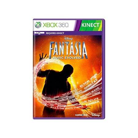 Disney Fantasia: Music Evolved - Usado - Xbox 360